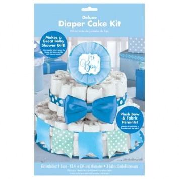 Diaper Cake Kit Blue