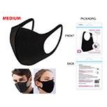 Masks Fabric Black Medium