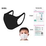 Masks Fabric Kids Black