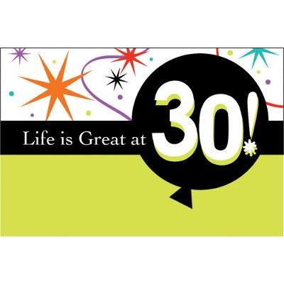 30th Invitation