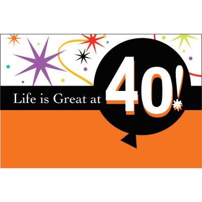 40th Invitation