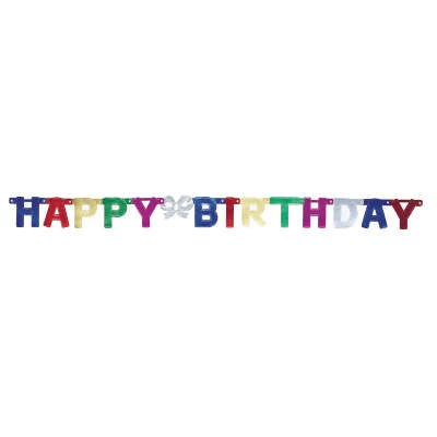 Mini Jointed Birthday Banner