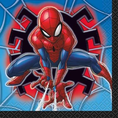 Spiderman Beverage Napkins