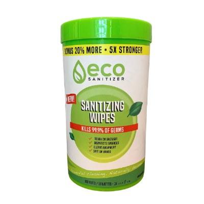 Eco Sanitizing Wipes 100ct