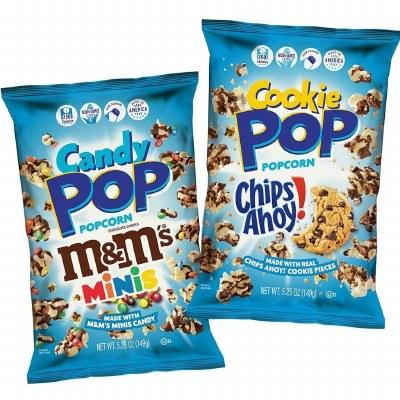 Popcorn With M&m's