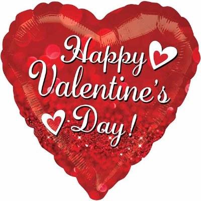 Happy Valentine Foil Balloon