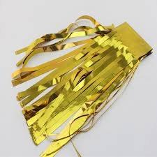 Metallic Tassels Gold