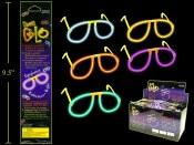 Neon Glo Eye Glasses
