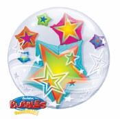 Star Double Bubble Balloon