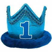 1st Birthday Boy Crown
