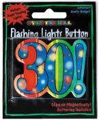 30th Flashing Button
