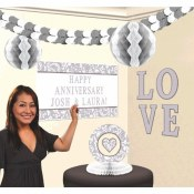 Silver Personalized Decor Kit