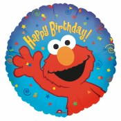 Elmo Birthday Foil
