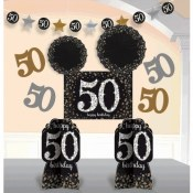 50th Sparkling Room Decor Kit