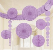 Damask Decor Kit Lilac