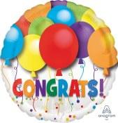 Congrats 18 In Foil