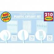 Clear Cutlery Set