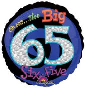 Oh No The Big 65th 18in Foil