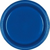 Royal Bl Dinner Plastic Plates