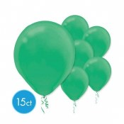 Green 12in Latex 15ct