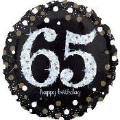 65th Foil Balloon
