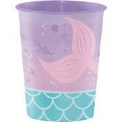 Mermaid Plastic Cup