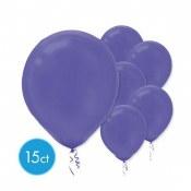 Purple 12in Latex 15ct