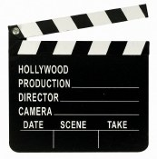 Hollywood Director Clapboard