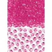 Confetti Gem Hot Pink
