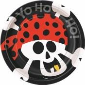 Pirate Dessert Plates