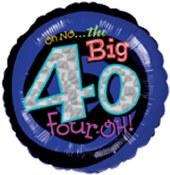 Oh No The Big 40 Foil