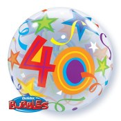 40th Bubble Balloon