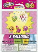 Shopkins Latex Balloons