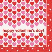 Valentines Lunch Napkins