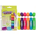 Poster Paint Crayon Sticks 6ct