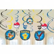 Pikachu Swirl Decor
