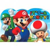 Super Mario Invites