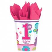 1st Birthday Sweet Girl Cups