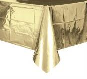 Gold Metallic Tablecover