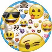 Emoji Dessert Plates