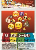 Emoji Latex Balloon
