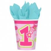 1st Birthday Girl Wild Cups