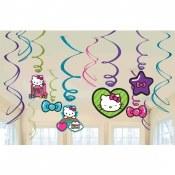 Hello Kitty Swirl Decor