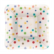 Party Diamond Square Plates