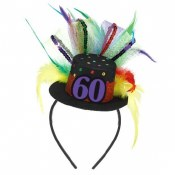 60th Fascinator Headband