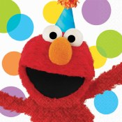 Elmo Lunch Napkins