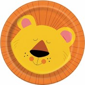 Jungle Animal Dessert Plates
