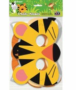 Jungle Animal Masks Paper