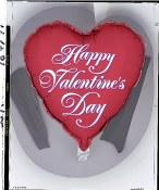 Valentine Heart 18in Foil