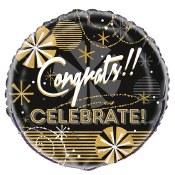 Celebrate 18in Foil Balloon